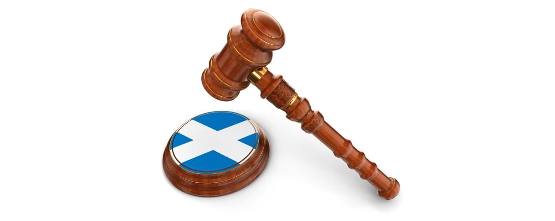 Scottish Law Gavel alt text