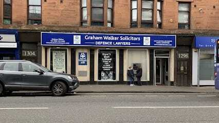 graham walker solicitors shop front